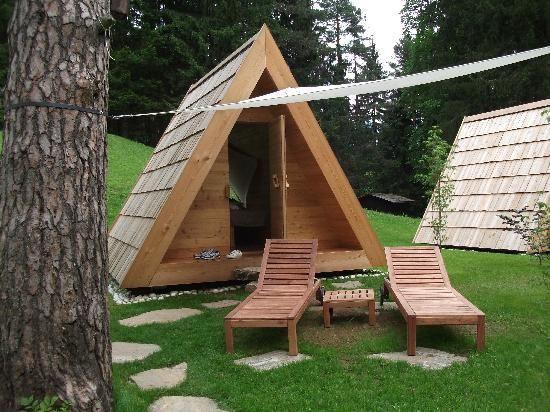 campers glamping | Foto's van Camp Bled – foto's Hut/Kampeerplaats