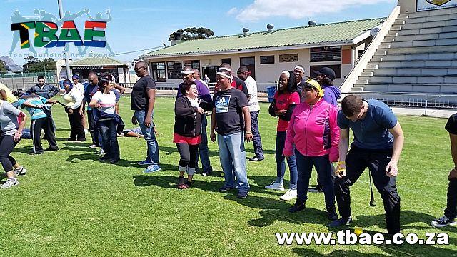Pendulum Walk Team Building Exercise #SAPD #TeamBuilding #CorporateFunDay