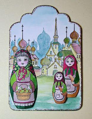 Lovely Babushka (by Anne)