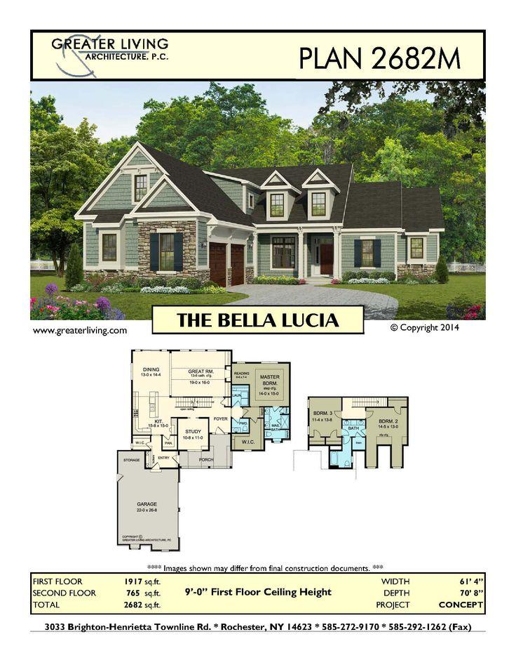Plan 2682M: THE BELLA LUCIA