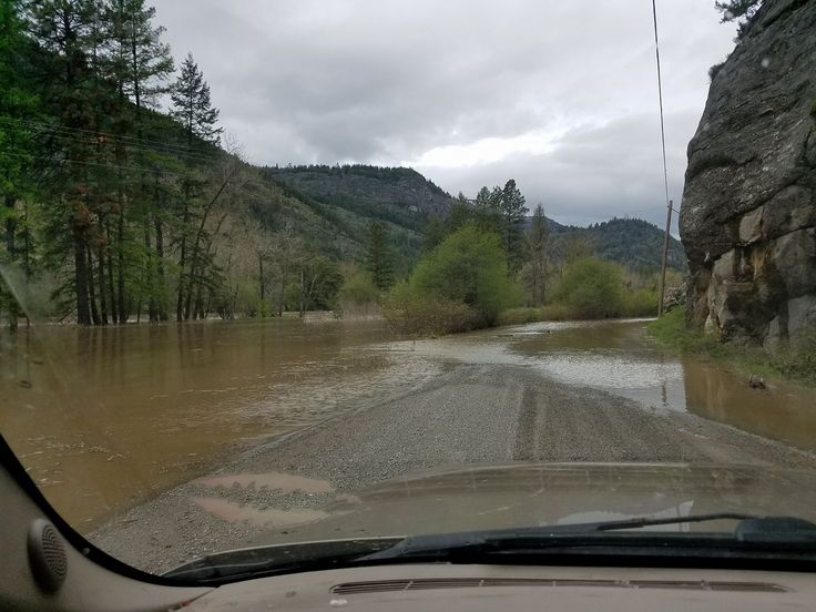 This is the Kettle River, flooding today!