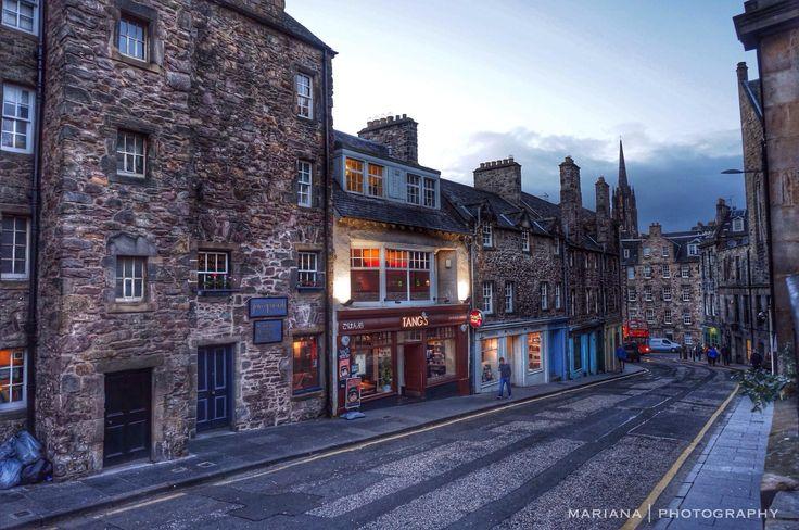 Edinburgh, Scotland  by Mariana de A. B.