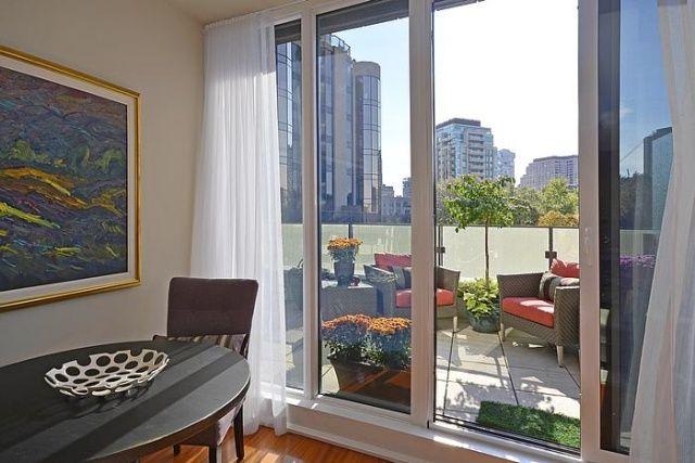 88 Davenport Rd Toronto Florian Condos Yorkville Dining Terrace Victoria Boscariol Chestnut Park Real Estate