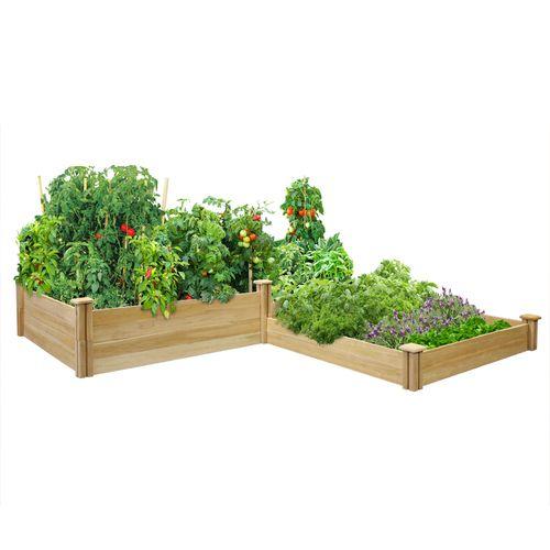 80 best unique raised beds images on pinterest raised for Unusual raised garden bed designs