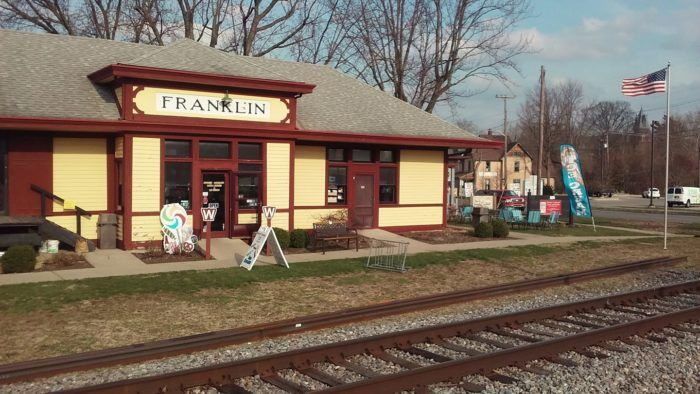 The Ice Cream Shop In This Indiana Train Station Museum Will Satisfy Your Sweet Tooth Train Museum Train Station Indiana
