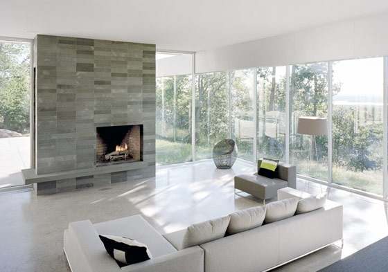 Luxury Dream House by Audrey Matlock - Modern Fireplaces Design