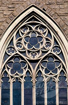 gothic window detail