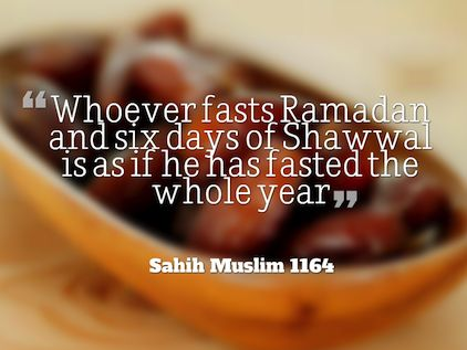 There is a sunnah to fast 6 days of Shawwal, but what is the importance of fasting these?