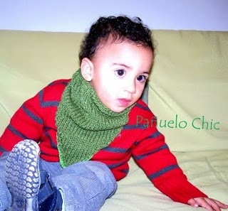 Pañuelo Chic Infantil. Kid Chic Sacrf