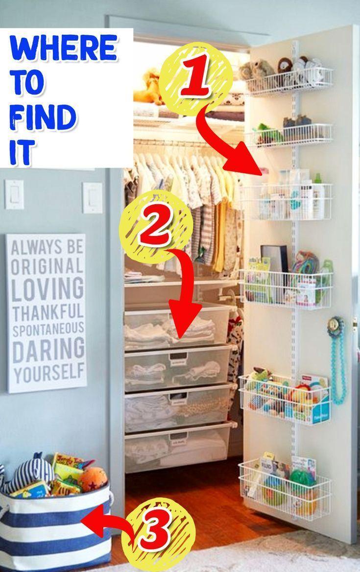 Baby Closet Ideas 47 Nursery Closet Organization Storage And