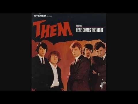 Here comes the night by the group them van - In the garden lyrics van morrison ...