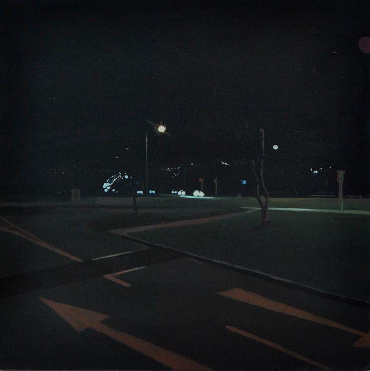 Allan Kinsella, Intersection #oil #board #intersection #hopper #night #atmosphere