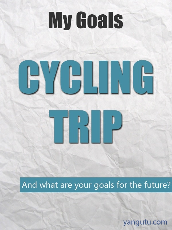 It's My Goal: Cycling trip #goals, #personal, #bestofpinterest, https://apps.facebook.com/yangutu