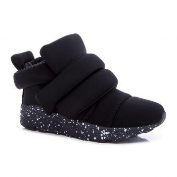 Черные кроссовки на платформе (Q6-351T-3-3), купить за 1299 грн в интернет-магазине Topshoes.ua