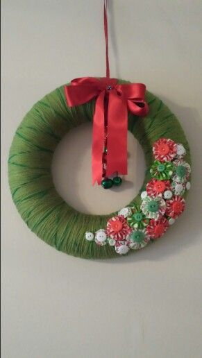 63 best images about xmas on pinterest easy christmas On polystyrene wreath ideas