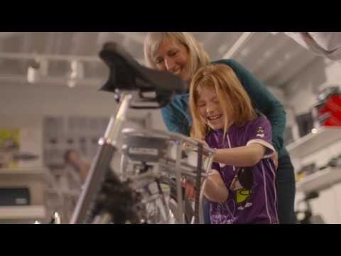 Gezondheid zit ook in je hoofd en hart - Elektrische fiets - YouTube