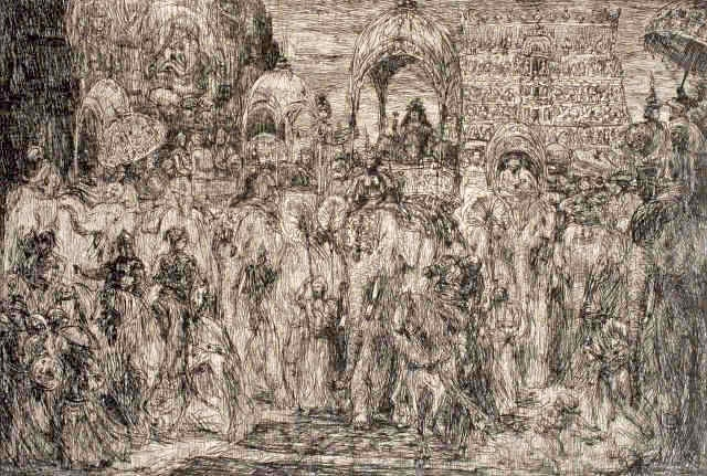 « La souveraine du Habad entra dans Bénarès »