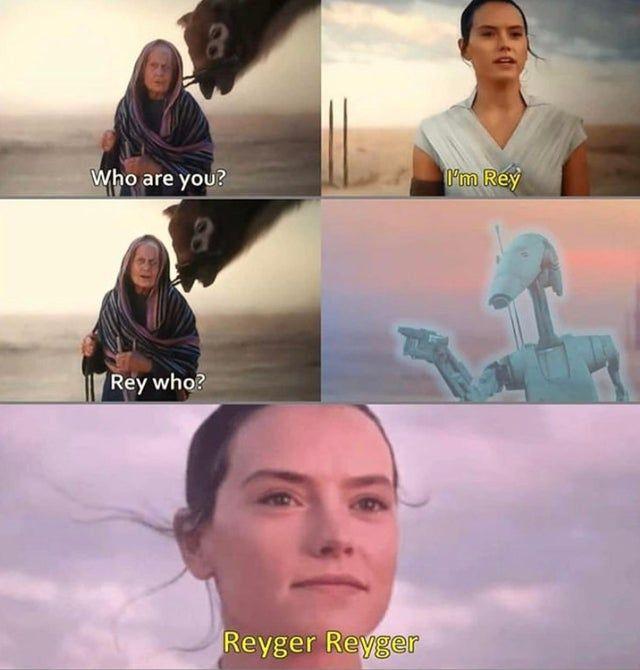 Reyger Reyger Starwarsmemes Star Wars Jokes Star Wars Pictures Star Wars Memes