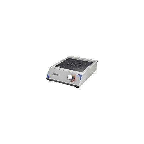 Casselin CPAI350K1 – Plaque à induction 350K1: Acier inoxydable Plaque à induction Affichage digital de la puissance sur la plaque