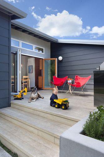 Cloud Street Residence modern porch