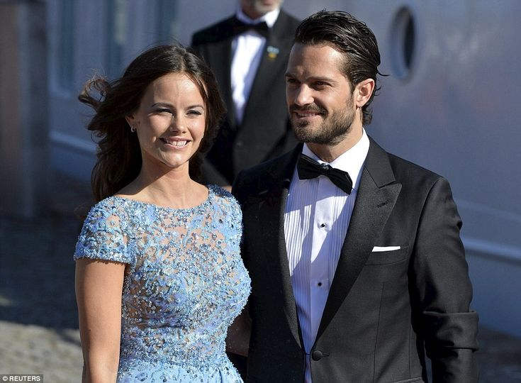 Engaged: Sofia Hellqvist, 30, will marry Sweden's Prince Carl-Philip in Stockholm tomorrow...