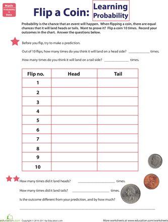 Más de 1000 imágenes sobre Math Probability en Pinterest | Monedas ...