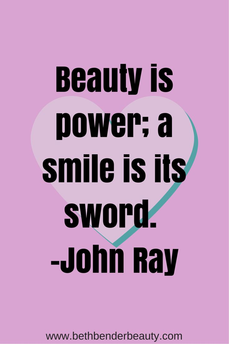 Beauty is power; a smile is its sword. #JohnRay #BeBeautiful #Inspiration