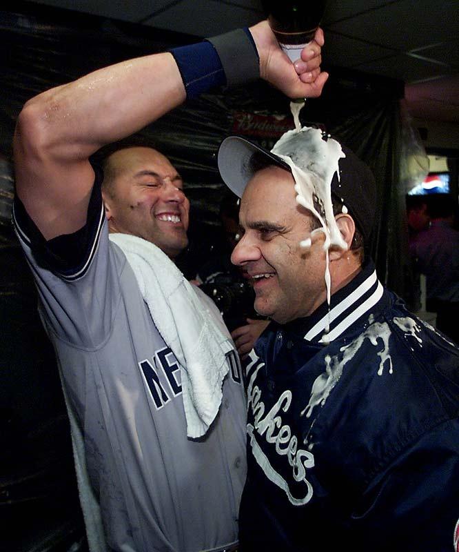 Derek Jeter, Joe Torre (1998 World Series)