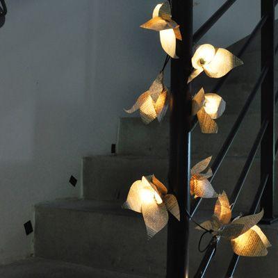 Les 25 meilleures id es concernant lanternes de sac en - Fabriquer guirlande lumineuse ...