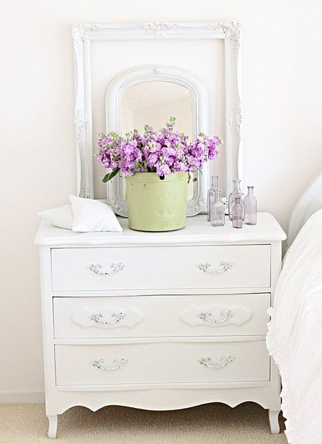Love The Green Purple White Look When We Turn Ashley S Room Into A Guest This Is Color Scheme I Want To Go With As Walls Are Already
