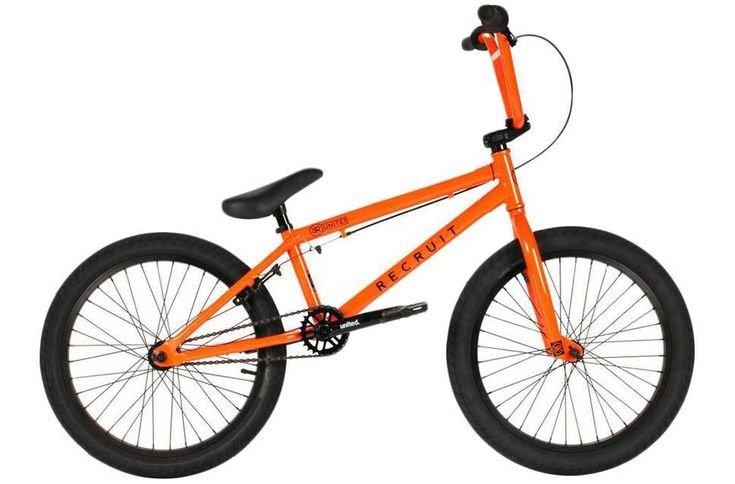 United Recruit Jr 18.5 Inch BMX Bike - Orange
