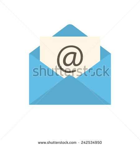Email icon (flat design)