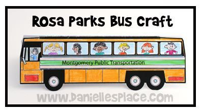 MLK update and a Rosa Parks Activity:)