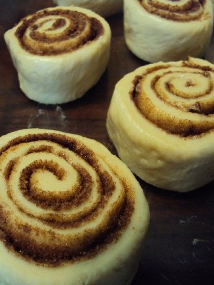 Bread Machine Cinnamon Rolls!