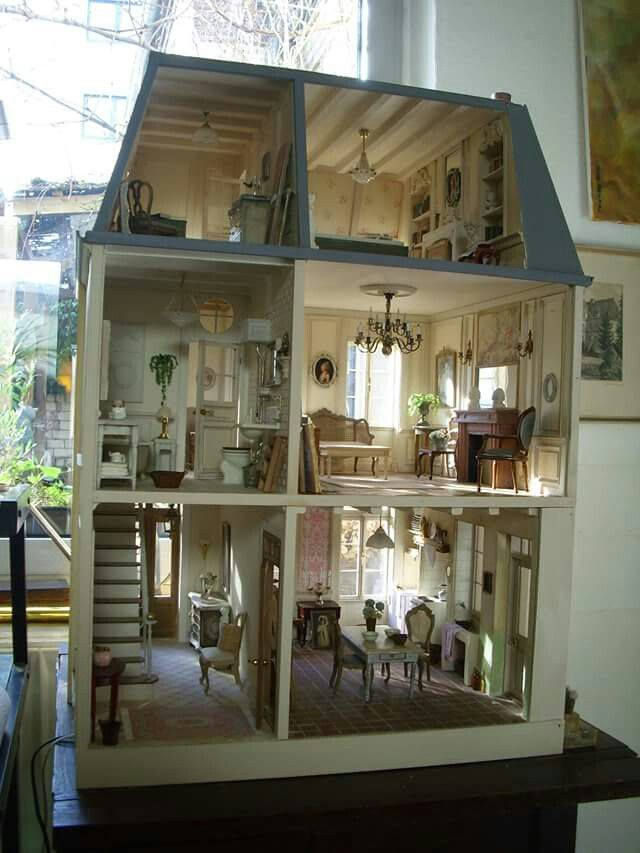 282 best Dolls House Interiors images on Pinterest Dollhouse ideas
