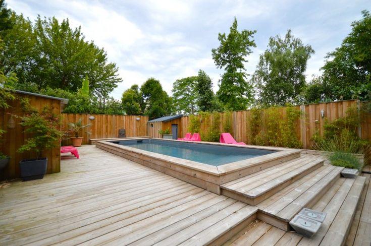 110 best piscine images on Pinterest Small pools, Small swimming - location maison cap d agde avec piscine