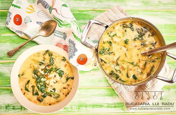 Groasa. Sa stea lingura dreapta in ea. Asa-mi place ciorba de spanac. Similara cu ciorba de salata verde, traditionala, impletitura de arome...