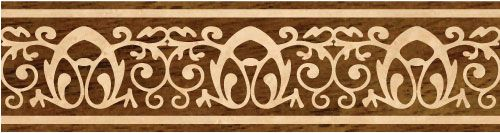 B13 wood flooring inlaid border design. Multiple species, can be sanded and refinished. #border #floorborder #woodfloorborder #woodfloor #wood #woodworking #woodfloordesign #inlay #intarsia #art #design #floor #functionalart #hardwoodfloor #inlaid #marquetry #pattern #parquet #woodinlay