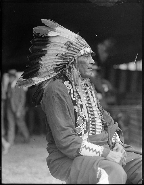 Chief Philip Howard, American Indian by Boston Public Library, via Flickr