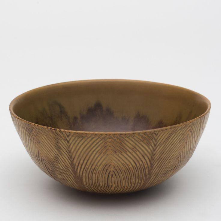Axel Salto: Unique bowl of stoneware