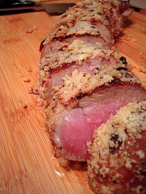 Fogo de Chao Parmesan PorkOlive Oil, Pork Recipes, Parmesan Pork, Tenderloins Recipe, Fogo De Chaos, White Wine, Pork Tenderloins, Plain Chicken, Chaos Parmesan
