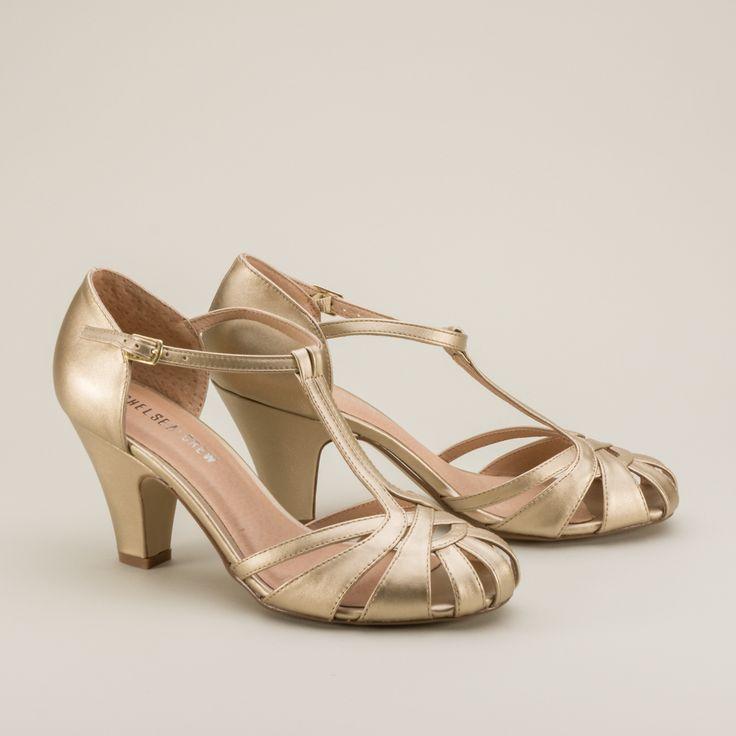 Vintage Style Wedding Comfort Shoes