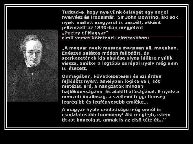 """""""A magyar nyelv a legnagyszerűbb hungarikum."""""""