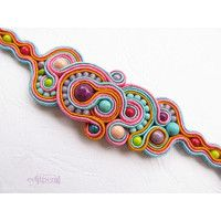 Colour cavalcade bracelet