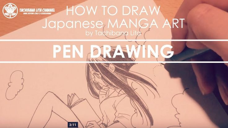 ✔ Pen Drawing - Detail up| How to draw Manga Art 2017.10.19