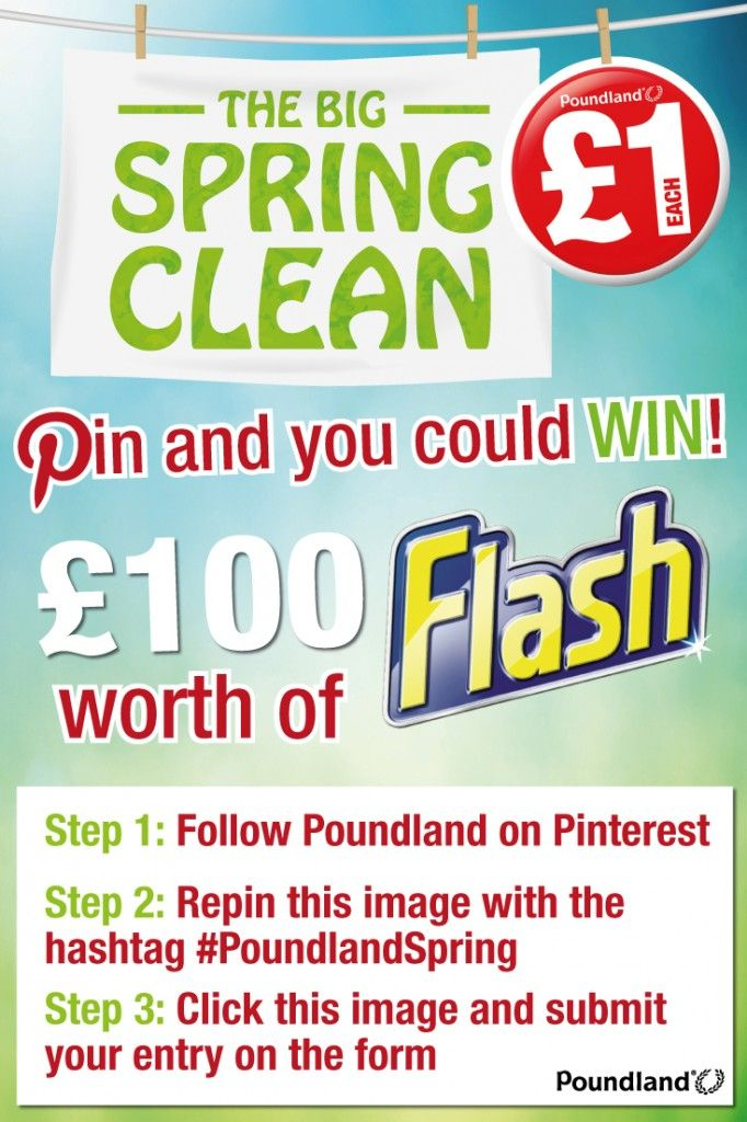 Pinterest-win-100 #PoundlandSpring