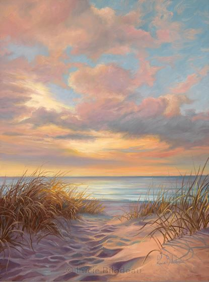 A moment of Tranquility,  Lucie Bilodeau, Artist