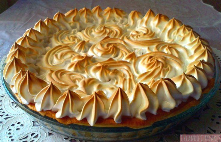 Creando Cupcakes: Tarta de limón con merengue o Lemon pie