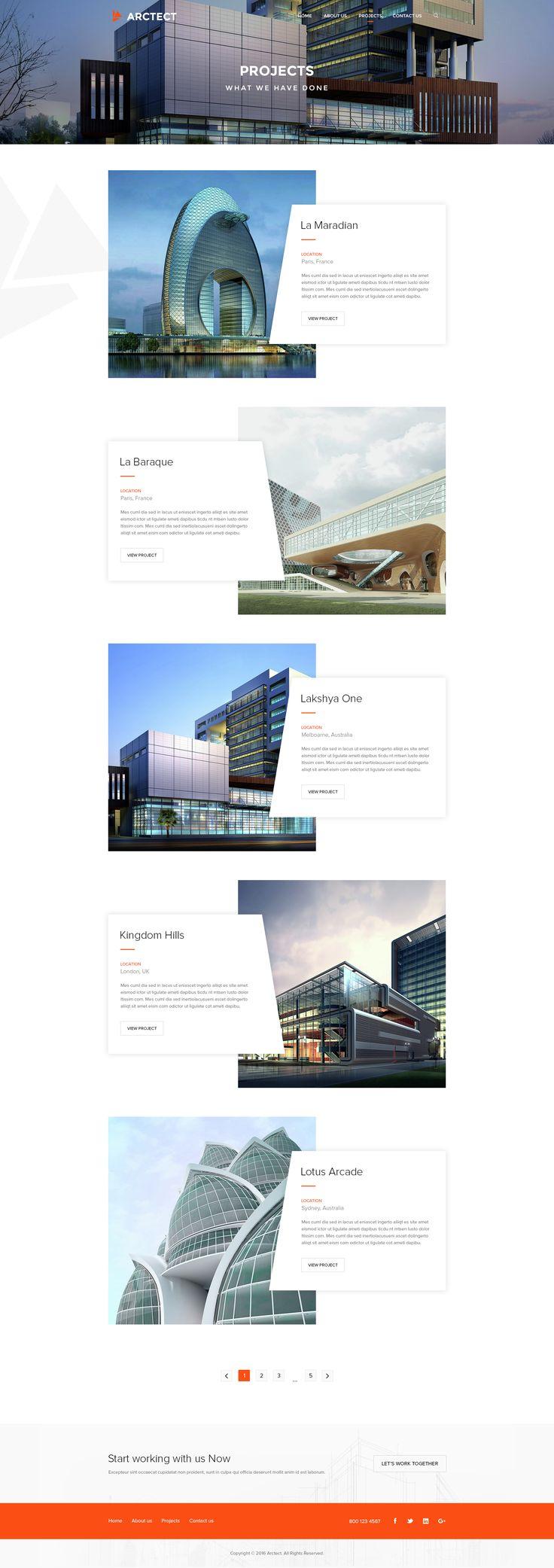 7 best Interior/ Architecture Website design images on Pinterest ...