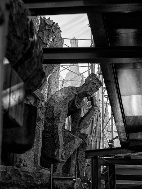 Sagrada Familia: waiting